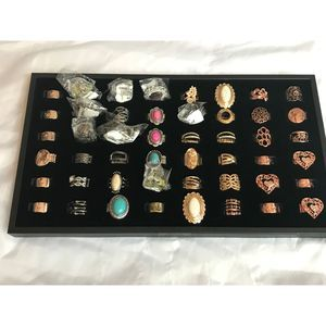 NEW LOT Paparazzi 56 Rings, Display Tray (Sz 6-10)